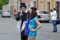 Zahájení turistické sezony v Klášterci nad Ohří.