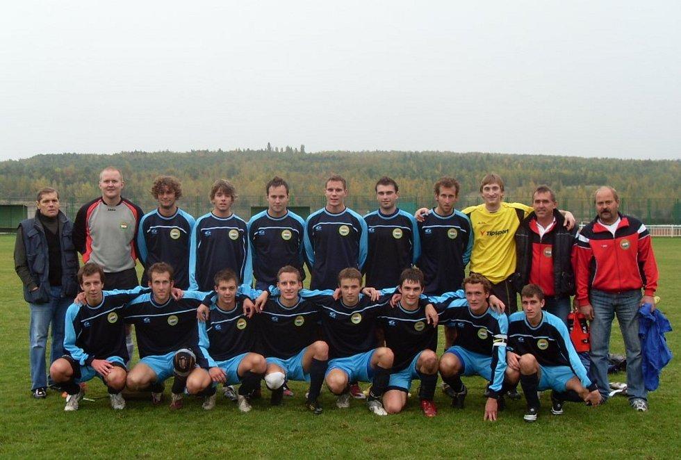 A mužstvo v roce 2010.