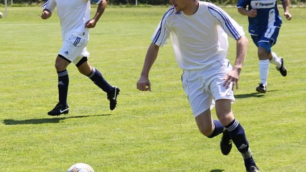 Snímek z utkání AFK LoKo - Tatran Kadaň.