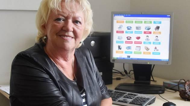 Milada Karbusová z Klubu aktivních seniorů v Jirkově.