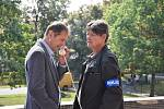 V bývalých chomutovských lázních natáčejí seriál o drogové mafii.