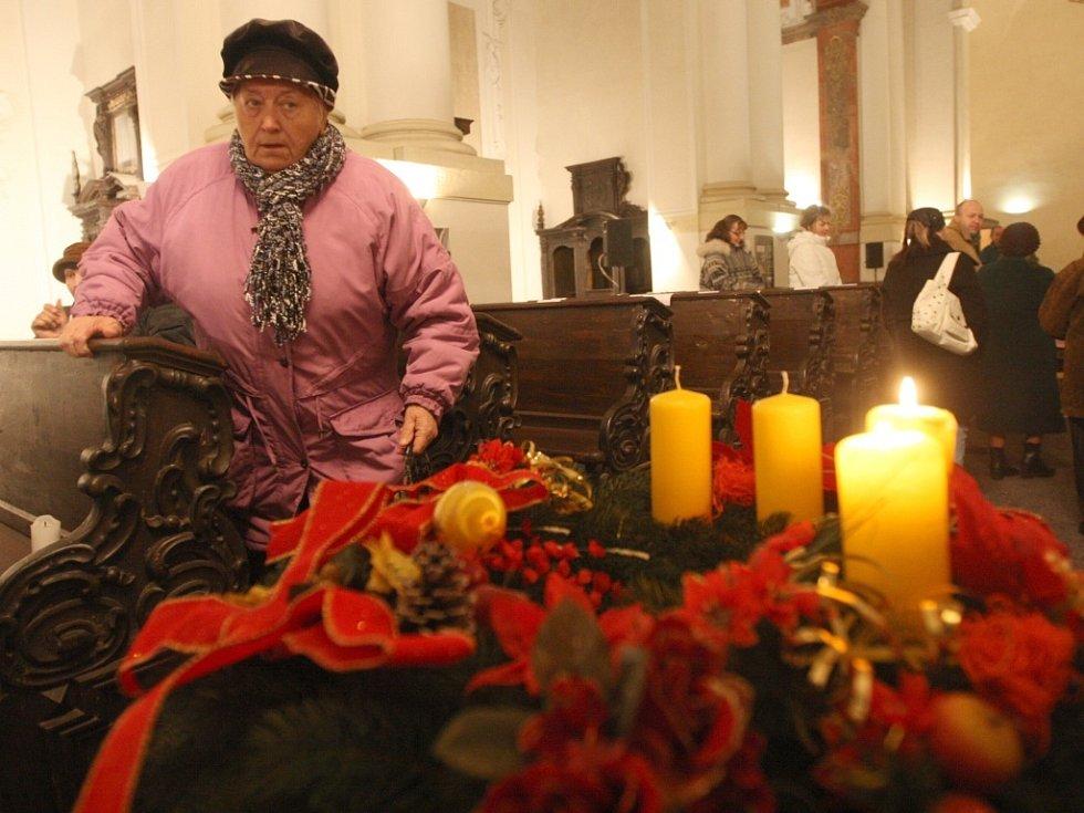 Obyvatelé Chomutova se modlili za pokojné soužití národnostních skupin.