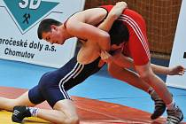 Jakub Bielesz (nahoře) pro zranění Velkou cenu nedokončil