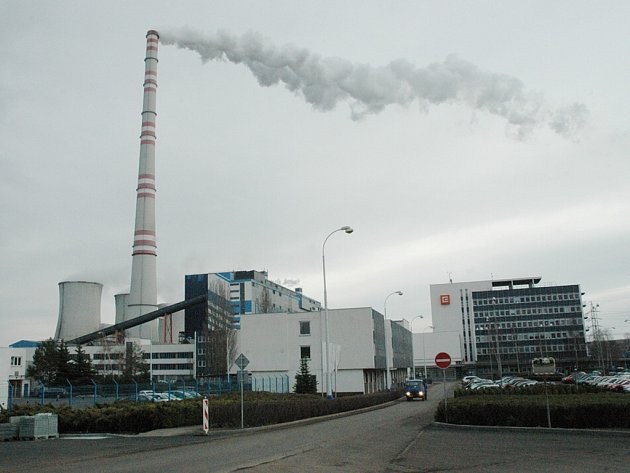 Elektrárny Tušimice.