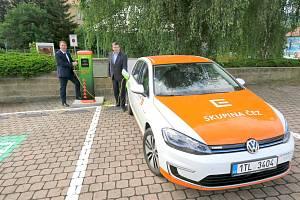 Elektromobil ČEZ - ilustrační foto