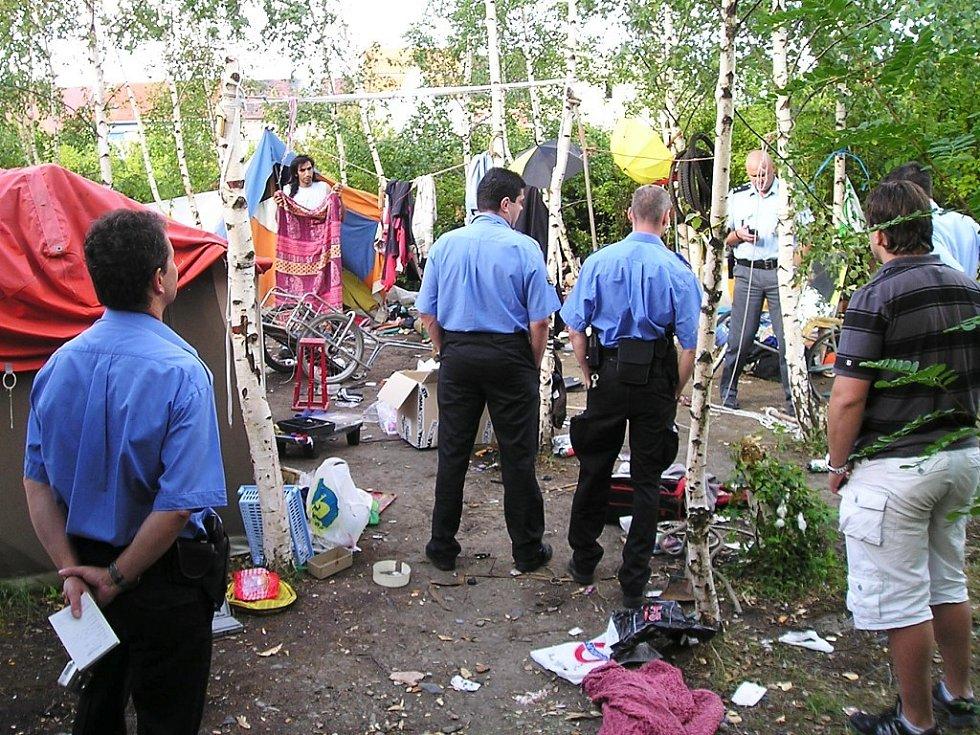 Na místě situaci jistili strážníci i státní policisté.