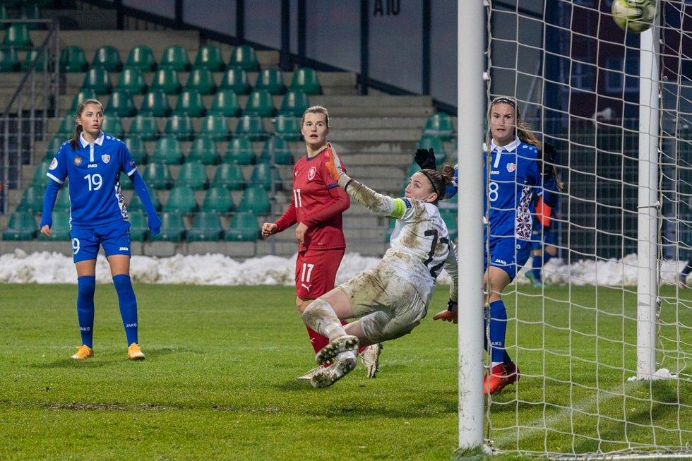 Fotbalistky zničily Moldavsko.