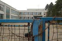 Areál bývalé školy na Kamenném vrchu.