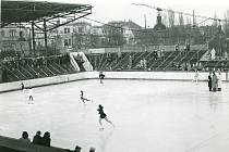 Zimní stadion v 50. letech.