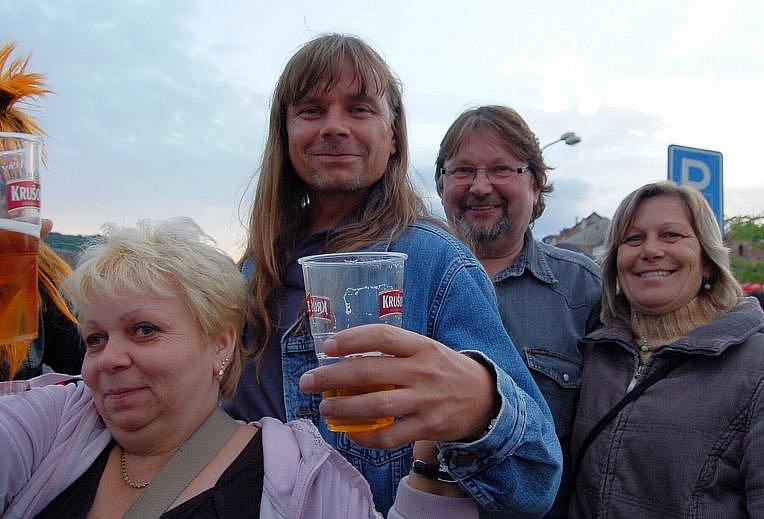 Na festival dorazili i domácí Kadaňáci.