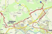 Přestože trasa měří necelých 40 km, není celkově tolik náročná. Zabrat vám může dát terén mezi Hradištěm a Prunéřovem, který po dešti nabídne místy i slušnou bahenní lázeň.