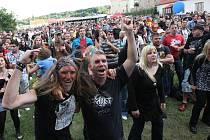 Rockfest Vysmáté léto v Kadani. Ilustrační foto.