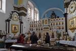 Pravoslavný kostel sv. Ducha v Chomutově na Den památek 2019.