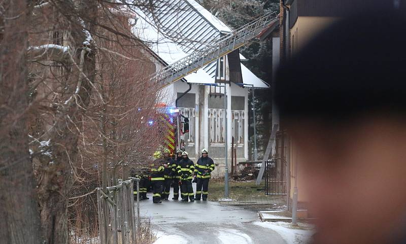 Tragický požár ve Vejprtech