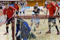 Florbal Chomutov - Panthers Praha 7:10.