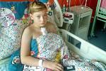 Třináctiletý Matěj čeká na vhodného dárce kostní dřeně. Stovky dobrovolníků proto dorazí do Spořic na Chomutovsku, kde se odběr 20. dubna odehraje.