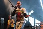 Frontman kapely Lou Fanánek Hagen