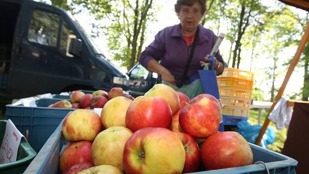 Farmářské trhy v Blatně.