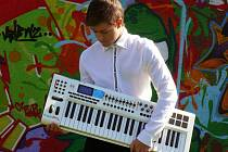 Talentovaný pianista Jan Veselý.