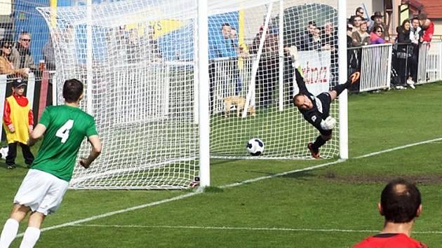 Ani zákrok Radka Zaťka nezabránil inkasovanému gólu