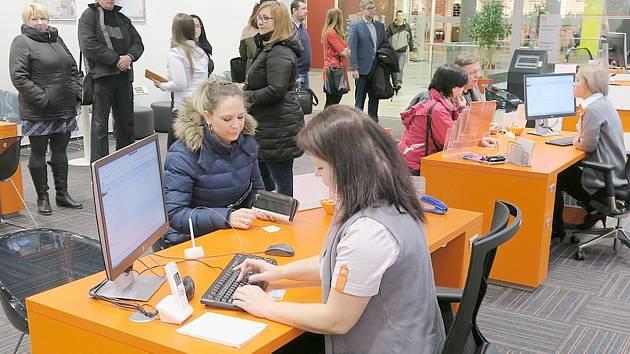 Nové zákaznické centrum v Chomutovce.