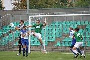 Na podzim porazil Chomutov na Zadních Vinohradech Velvary 1:0.