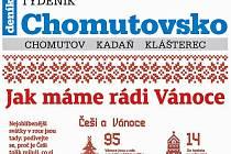 Týdeník Chomutovsko z 11. prosince 2018