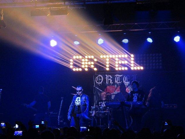 Vystoupení kapely Ortel. Archivní foto