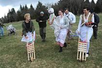 Na Lesné vyhnali Moranu a přivítali jaro