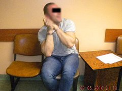Agresivní muž z Chomutovska, který přepadl kabinu strojvedoucího ve vlaku.