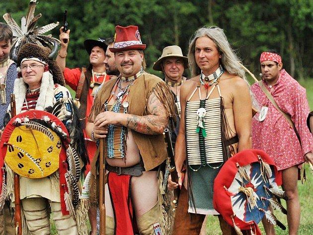 Poslední indiánské války na archivním snímku