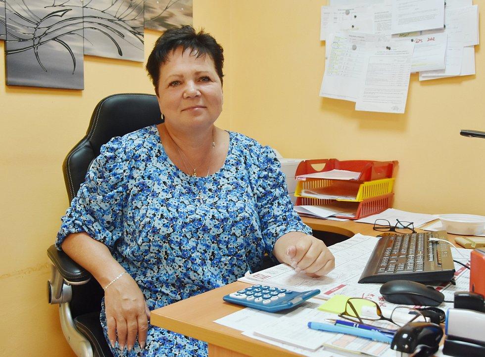 Starostka Rokle Renata Kobzová.
