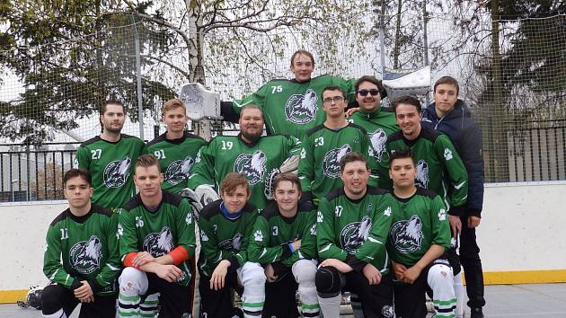 Mužstvo Wolves Chomutov