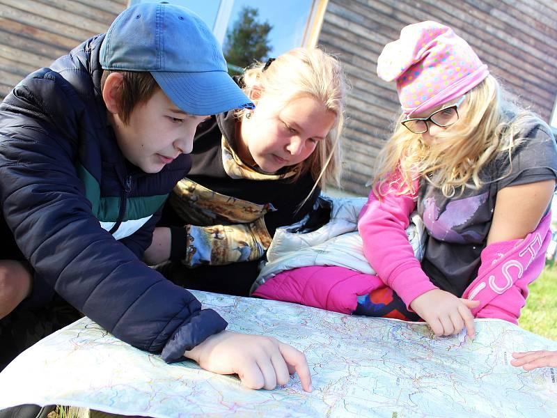 Děti z otvické základní školy se učily, jak zvládat krizové situace.