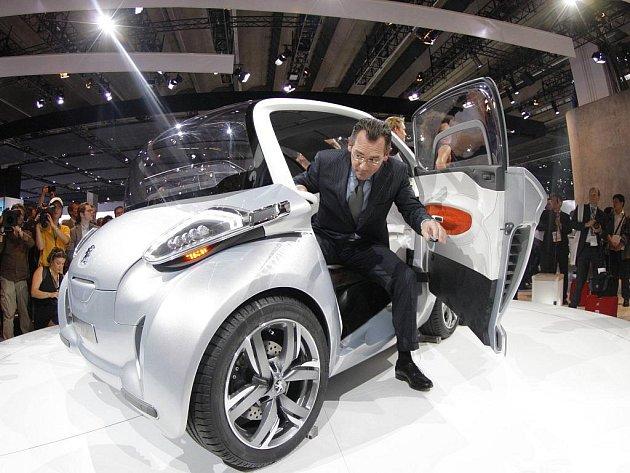 Mezinárodní autosalon ve Frankfurtu 2009: koncept i-On od Peugeotu a