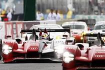 Audi v letošním závodu Le Mans nedalo konkurenci šanci.