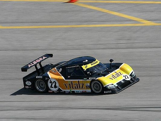 Prototyp BMW/Riley, s ním Tomáš Enge bojoval v závodě Grand-Am v Homesteadu.