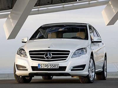 Mercedes Benz třídy R prodělá zásadní změnu přídě.