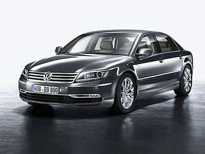 Poslední facelift vozu Volkswagen Phaeton