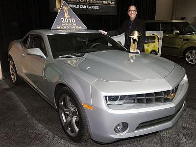 Nový Chevrolet Camaro získal cenu World Car Design of the Year