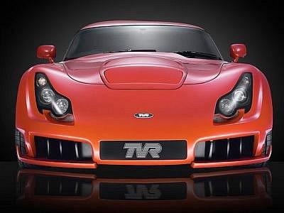 Jeden z posledních modelů původní značky TVR, model Sagaris