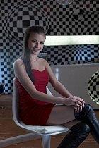 Fotografie z natáčení kampaně druhé řady pěvecké soutěže Česko Slovenská Superstar: Monika Bagárová
