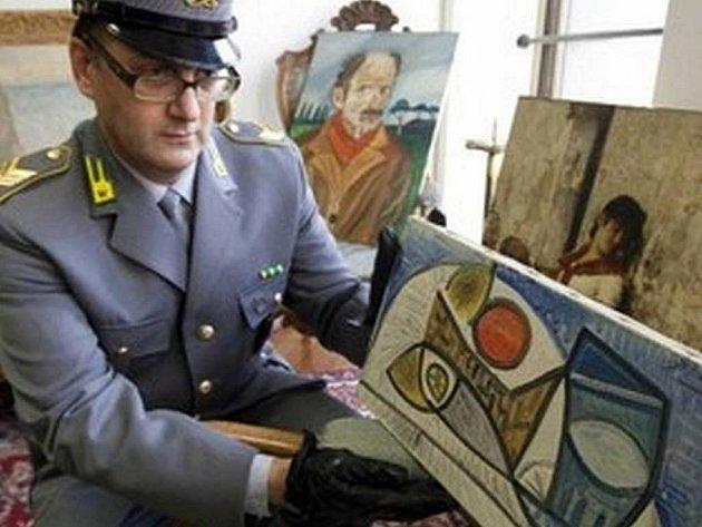 Italští policisté objevili slavný Picassův obraz