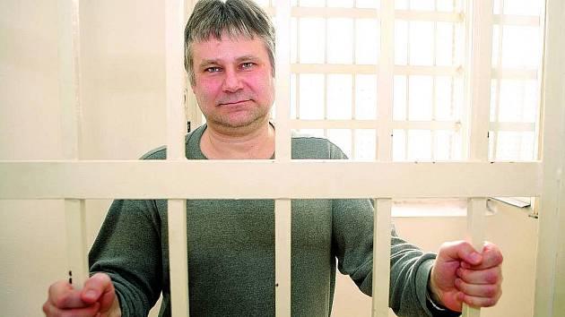 Jiří Kajínek ve věznici