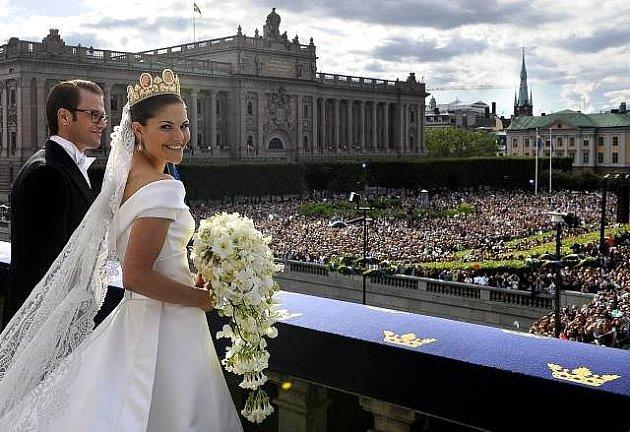 Svatba švédské kurunní princezny Victorie