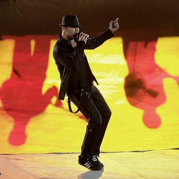 Ricky Martin na koncertě