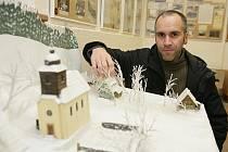 V muzeu v Pasekách si můžete prohlédnout i model vesnice.