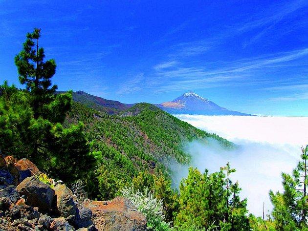 Národní park Teide je překrásný a monumentální Pico de Teide v pozadí ještě umocňuje výhled po okolí.