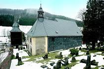 Kostel svatého Kryštofa, dominanta celého údolí