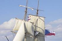 Loď La Grace pod českou vlajkou
